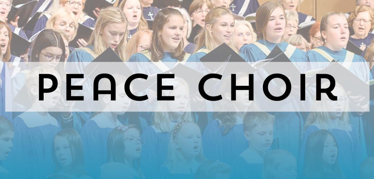 Peace Choir Rehearsals