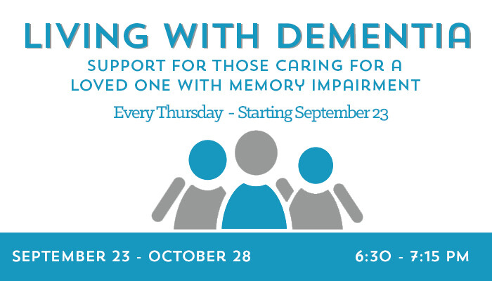 Living With DementiaSupport Group